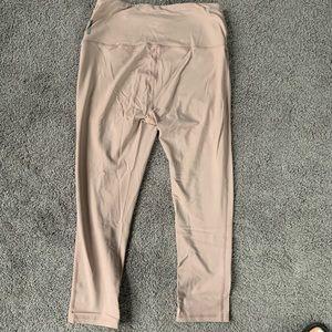 RBX Pink cream leggings medium yoga lifting